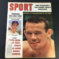 VTG Sport Magazine February 1960 Larry Sherry, Ingemar Johansson, Carol Heiss