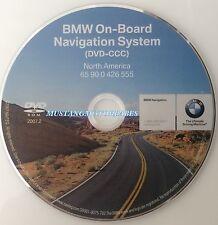 07 08 BMW E63 E64 6-Series Professional Navigation DVD 555 Map Edition © 2007.2