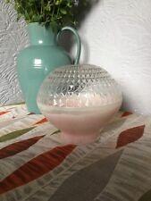 Fab Retro 1950s Pink Globe Atomic Light Shade #4763