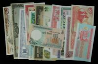 15 Different Mixed Foreign World Banknote Currency Paper Money Lot #187