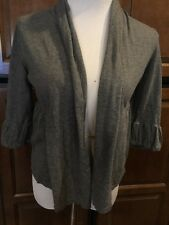 Ann Taylor Loft Gray Wrap Size P- Medium Ref AZ-757