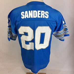 Mint NOS Vintage 90s Barry Sanders Starter NFL Detriot Lions Football Jersey 95