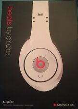 Beats by Dr. Dre Studio Headband Headphones - White