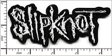 10 Pcs Embroidered Iron on patches Slipknot Music Band 10.8x5cm AP056dA