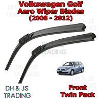 (08-12) Volkswagen Golf Aero Wiper Blades / Front Flat Blade Wiper VW Mk6