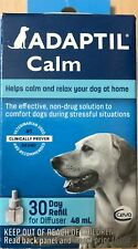 ADAPTIL CALM 30 DAYS REFFILL for DIFFUSER 48ml HELP CALM AND RELAX YOUR DOG!