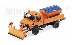 1/43 MINICHAMPS Unimog 1300 L 1976 Truck Version Snow Plough New Delivered Free
