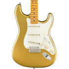 Fender Lincoln Brewster Signature Stratocaster Electric Guitar, Aztec Gold for sale