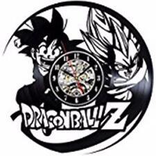 Art Wall Clock Dragon Ball Z Dbz Son Goku Vinyl Record Home Decor Vintage Room