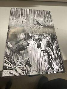 Batman 50 Jim Lee Black and White B&W Retailer Summit Variant Catwoman 2018 NYCC