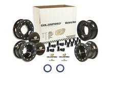 Goldspeed Victory Box Vb-2 Blue Front & Rear Wheels Beadlock Yamaha Raptor 700