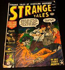 Strange Tales (1st Series) #12 1952  3.5