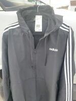 Adidas Essentials XL 3-Stripes Woven Windbreaker Men's