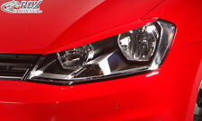 RDX Scheinwerferblenden VW Golf 7 Böser Blick Blenden Spoiler Tuning