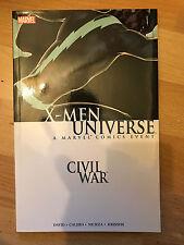 Civil War: X-Men Universe tpb Marvel Comics Paperback graphic novel 1st print