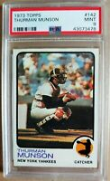 1973 Topps #142 Thurman Munson - Yankees - PSA 9 - MINT! - 45113075 - (SCA)