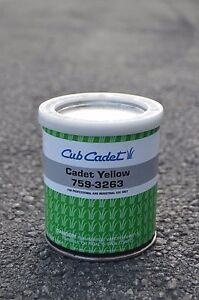 Cub Cadet Yellow Paint (1961-1989) Quart.  759-3263