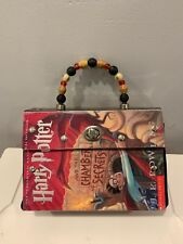 Harry Potter and the Chamber Of Secrets Handbag made with Original Book Cover