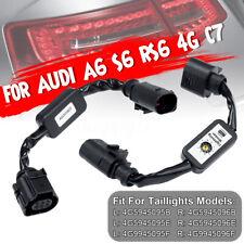 2x Semi Dynamic Turn Signal Indicator LED Tail Light For AUDI A6 S6 RS6 4G C7