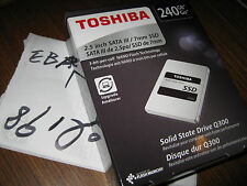 *new TOSHIBA 240GB SSD Q300 HDTS824XZSTA SATA-3 TLC Internal Drive ***MORE***