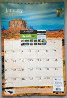 """2021 Monthly Wall Calendar At-a-Glance Nature 15.5"""" x 22.75"""" Large ACCO SFI"""