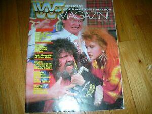 1984 AUG/SEPT 1984 WWF MAGAZINES RARE