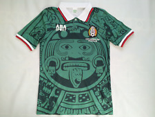 Aba Sports 1998 Copa Mundial Fifa Mexico National Team Soccer Jersey Size M