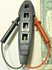 Electrical Circuit Tester Outlets Switches Fuses Spark Plugs Condensers