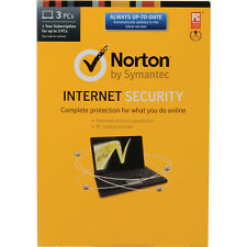 Norton Internet Security 2017 3 PC's / - 1 Year - License / Code / Fast Deliver