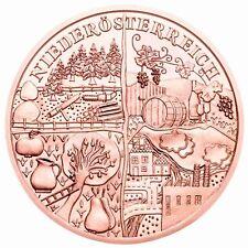 Österreich 10 Euro 2013 Wachau in Niederösterreich aus Kinderhand Kupfermünze