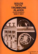 Solos for the Trombone Player 16 Stücke Noten für Posaune und Klavier