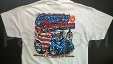 XL Muscle Machines T-Shirt Crusin Pasadena Run 5 1948 Anglia Thames XLarge