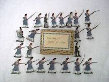 Painted Lead Russian Vintage Toy Soldiers