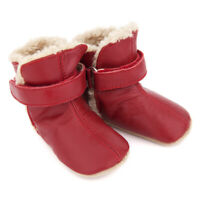 NEW SKEANIE Pre-walker Baby & Toddler SNUG Boots Red. 0 to 2 years.