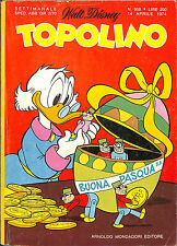 [937] TOPOLINO ed. Mondadori 1974 n.  959 stato Edicola