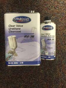 MATRIX REFINISH SOLUTIONS CLEAR VALUE URETHANE CLEARCOAT RSC-310(4:1 MIX GALLON)