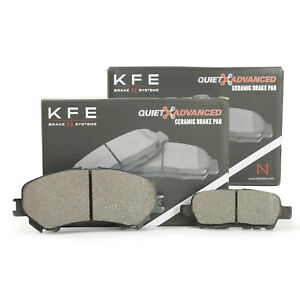 FRONT REAR Ceramic Disc Brake Pad For Nissan Rouge 2 Row Seating KFE1737 905