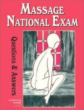 Massage National Exam Questions and Answers