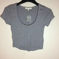 NWT Truly Madly Deeply Los Angeles Crop Top Size Medium Mauve
