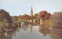 BR66557 st helen s church abingdon uk  14x9cm