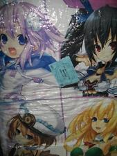 Hyperdimension Neptune Neptunia official reversible cushion A Tsunako chojigen