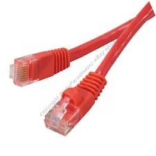 Lot10 1ft short Cat6 Ethernet Gigabit Network Patch Cable/Cord/Wire$SHdisc{RED{F