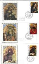 FDC 2205/07 - HET LAM GODS - ZIJDE - Genk