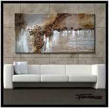 ABSTRACT PAINTING MODERN CANVAS WALL ART Direct from Artist 60x30 USA  ELOISExxx