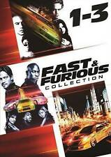 The Fast and the Furious Trilogy (DVD, 2014, 3-Disc Set)