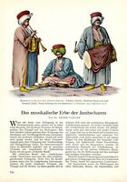 Musik der Janitscharen Bericht 1938 6 Seiten 11 Abb. Osmanen Elite Leibwache
