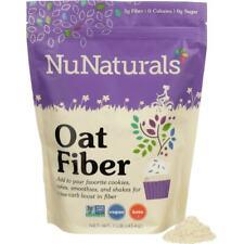 NuNaturals Oat Fiber 1 lb Pkg