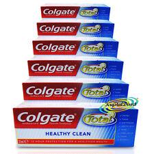 6x COLGATE Sani Clean antibatterica fluoruro DENTIFRICIO 25ml TRAVEL SIZE
