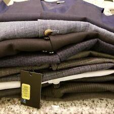 NEW Men's MURANO Dress Suit Vest S M L XL Navy Grey Charcoal White Blue
