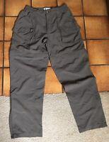 Columbia Vintage Womens Convertible Hiking Pants Shorts Size Medium Nylon Zip